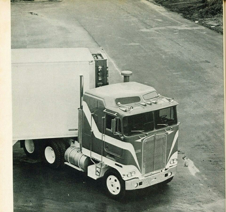 Pin by Tim Evans on American Semi Trucks from times gone