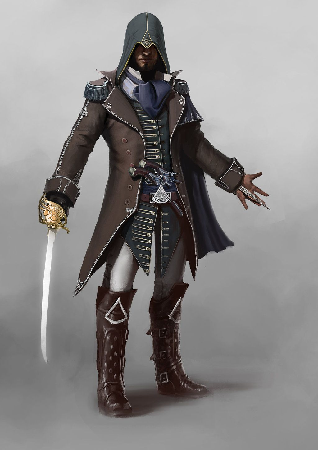 Character Design Unity : Assassin s creed fraternity by asahisuperdry