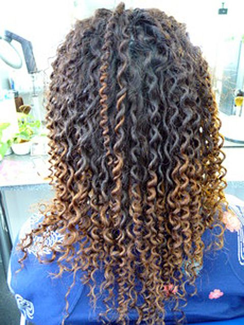Long Hair Tight Curly Spiral Perm Spiral Perm Curly Hair Styles Permed Hairstyles