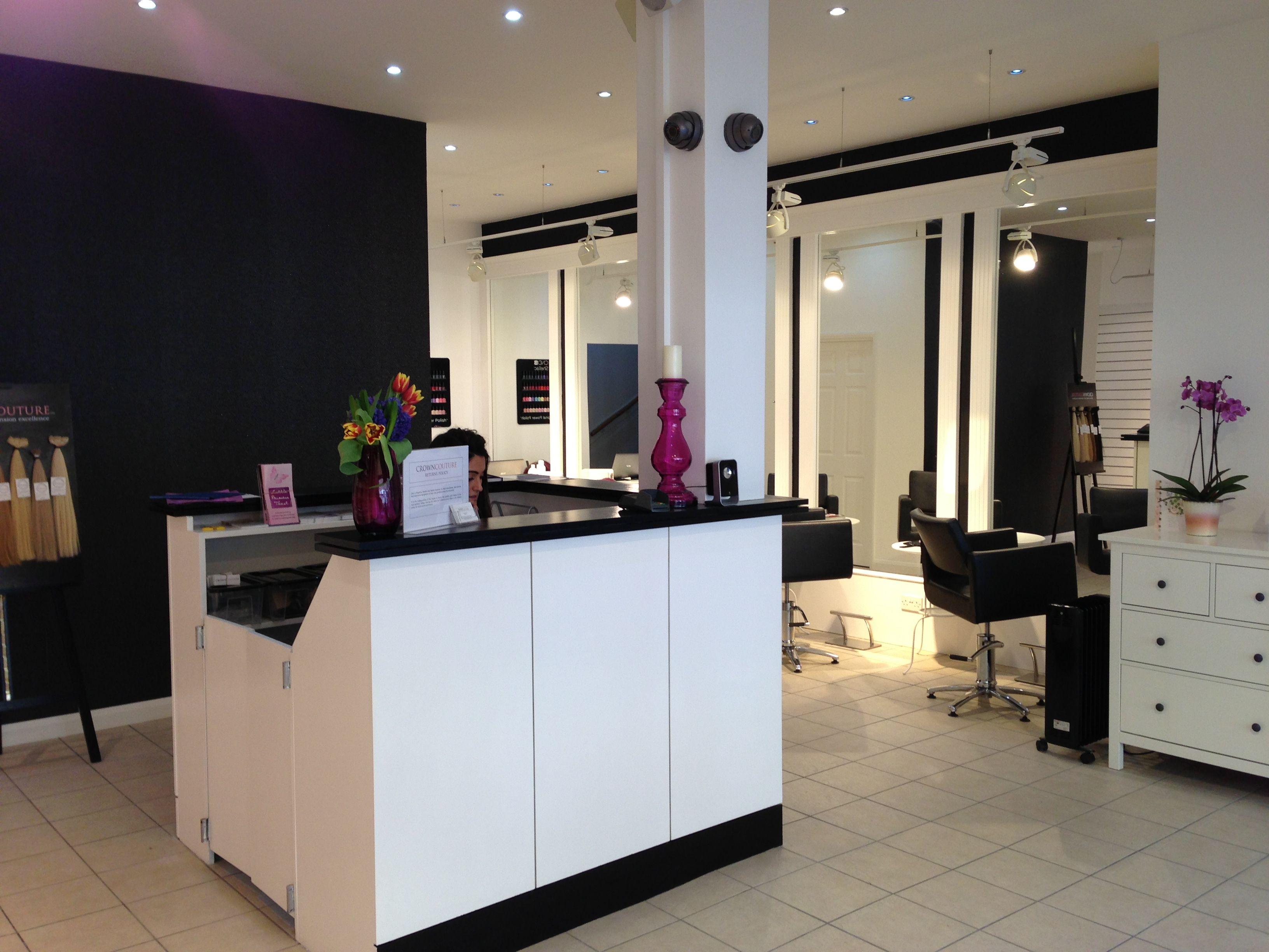 Crowncouture hair extension boutique home decor decor