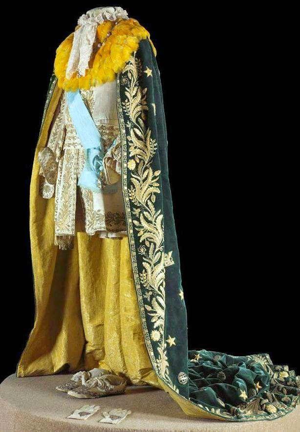 The Coronation H I M Emperor Pedro Ii Of Brazil Coronation Robes