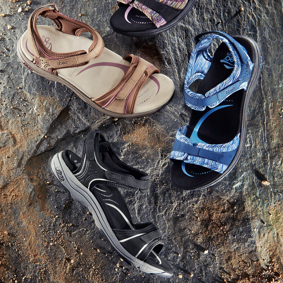 Enjoy Your Summer Adventures In Abeo Active Sandals Sandals Womens Sandals
