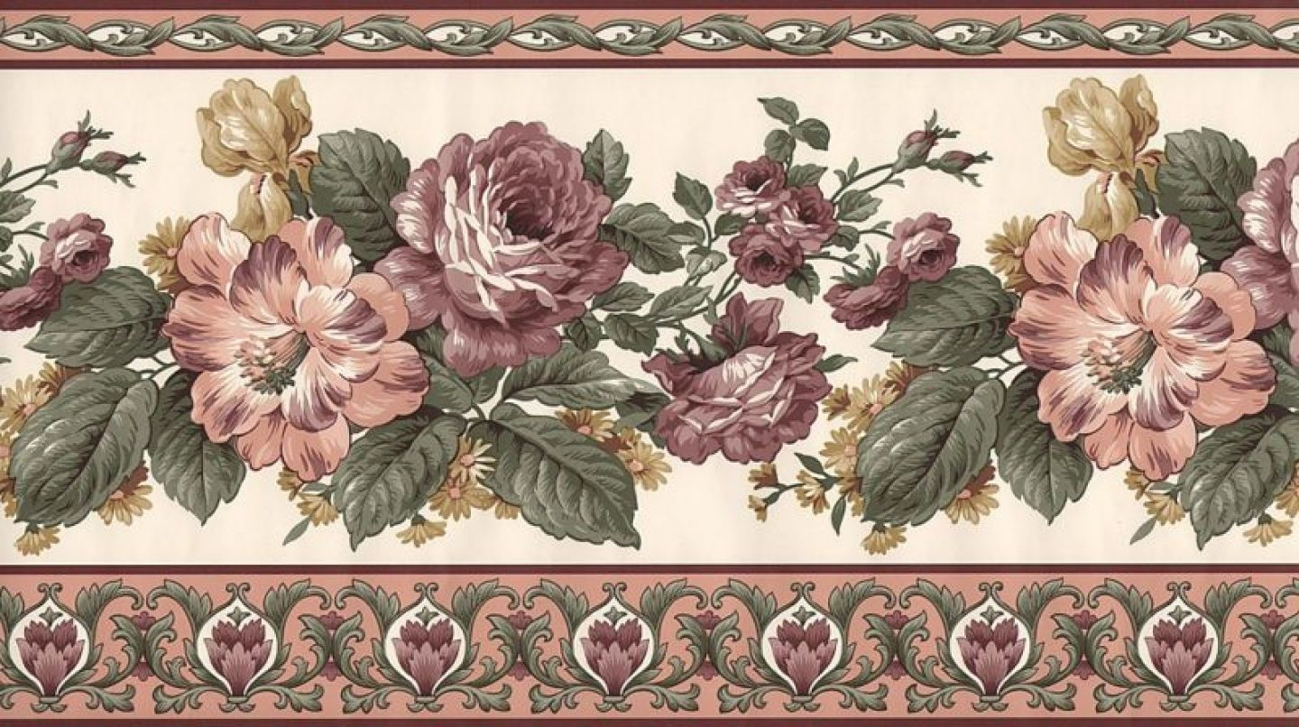 104 Best Victorian Rose Wallpaper Border Images Rose Wallpaper