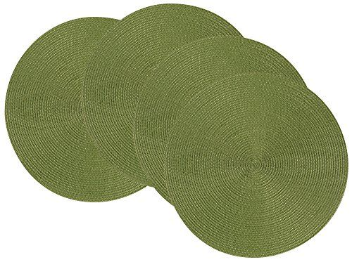 Now Designsu0027 Disko Round Placemats Are Ideal For Indoor Or Outdoor Use  Formal Or Casual Dining. Each Placemat Measures 15 Inches In Diameter And  Is Made ...