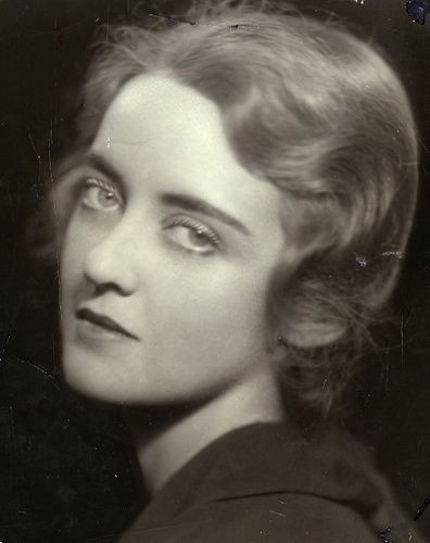 Very young Bette Davis by Gatochy