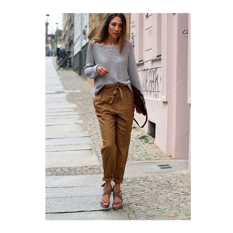 revendeur bc6e1 5be1e Comment porter le pantalon paper bag | Mode | Tendances ...