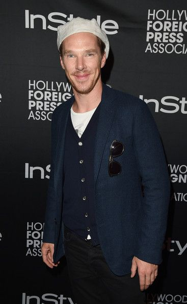 Benedict Cumberbatch Photos: HFPA & InStyle's 2014 TIFF Celebration - Arrivals - 2014 Toronto International Film Festival
