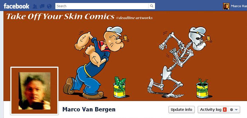 Take Off Your Skin Comics: Popeye
