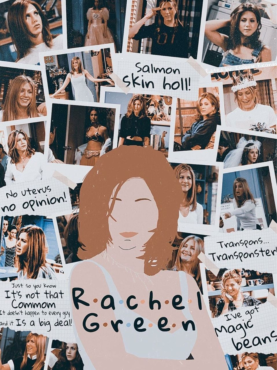 Rachel Green discovered by Ambigüedad on We Heart