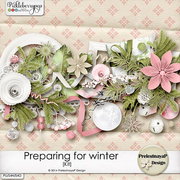 Preparing for winter Kit by PrelestnayaP Design