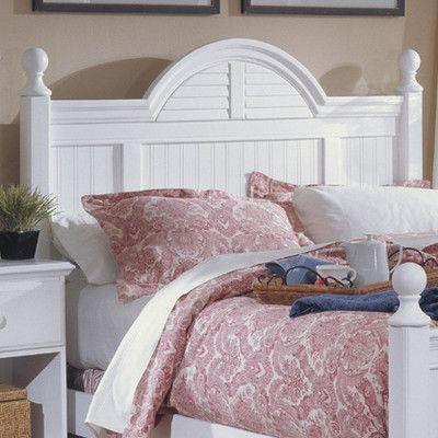 Carolina Furniture Works, Inc. Carolina Cottage Panel Headboard Size: Queen