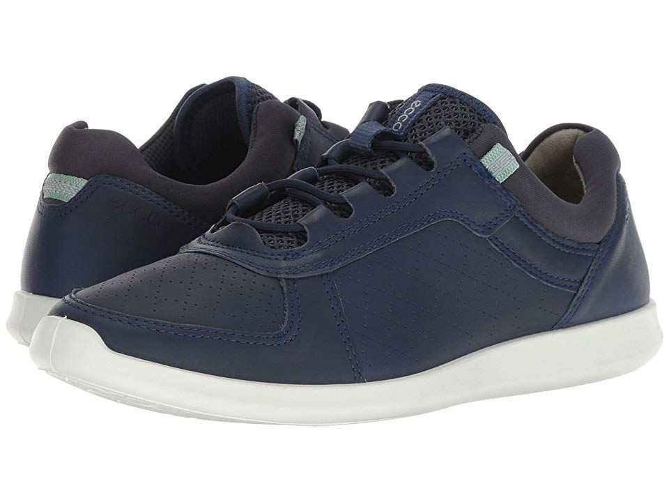 9b9470390479 ECCO Sense Toggle (True Navy Yak Leather) Women s Lace up casual Shoes. Save