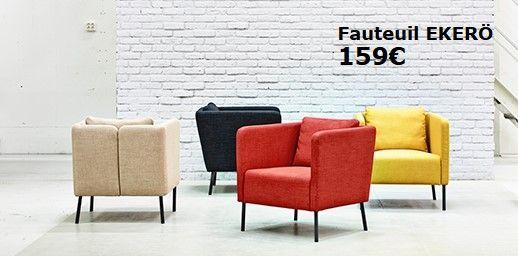 chaussures de séparation 8dfeb f9472 EKERÖ Fauteuil Skiftebo jaune IKEA | fauteuil | Fauteuil ...
