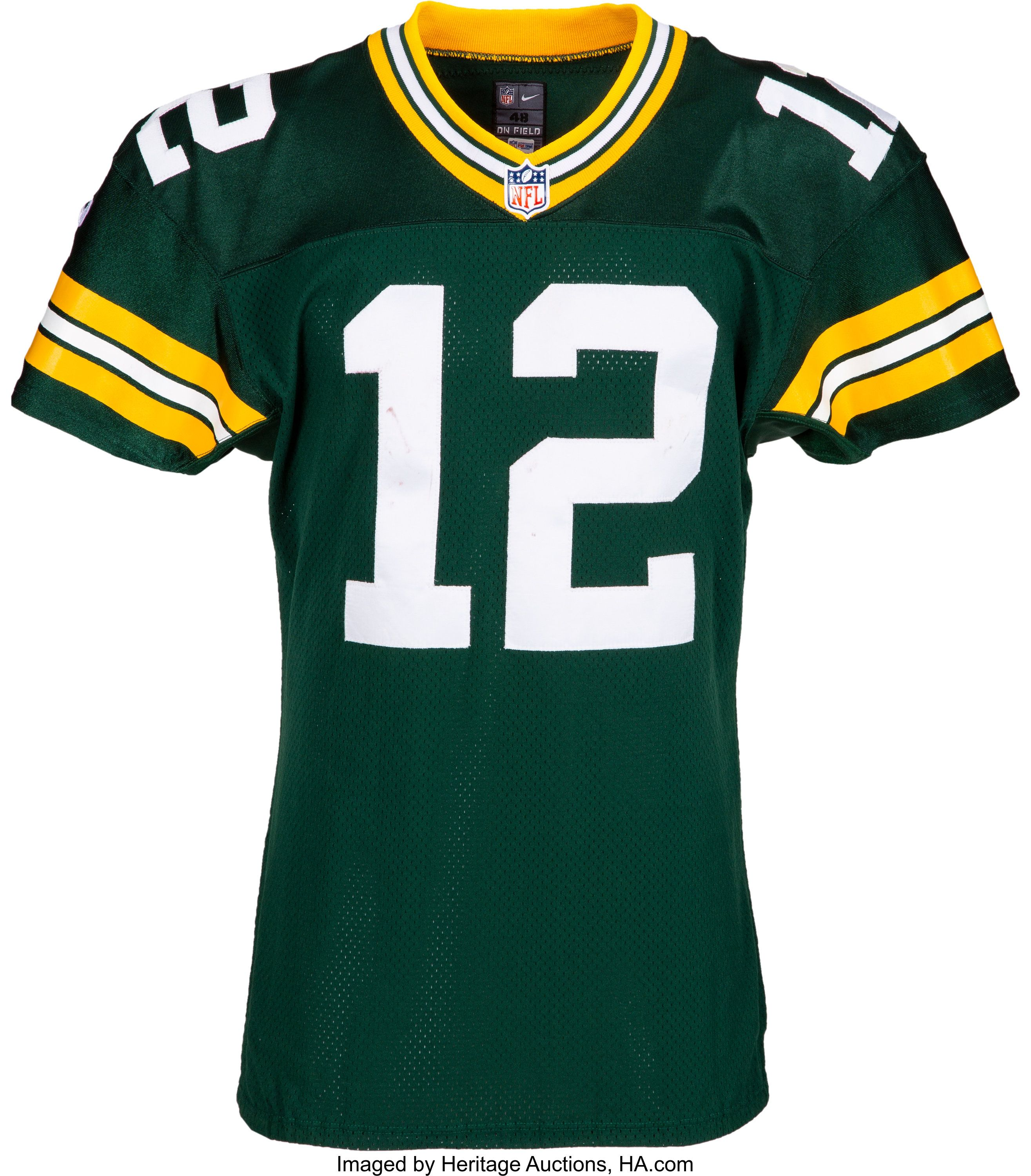 World S Largest Collectibles Auctioneer Green Bay Packers Jerseys Game Wear Green Bay Packers