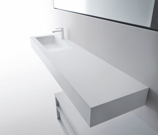Vanity units Wash basins Shape Falper Michael Schmidt Check
