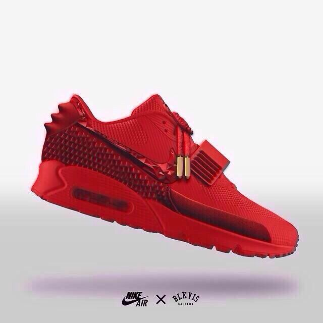 Hmmm…Concept Nike Air Max Yeezy 2??? Yeezy-Inspired Air Max 90
