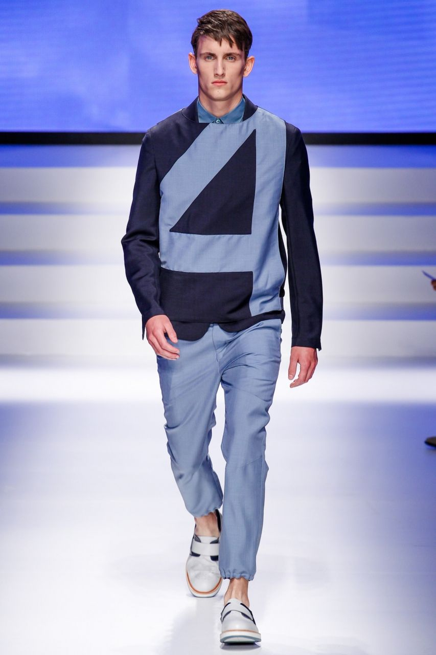 Salvatore Ferragamo Menswear at Milan Fashion Week.