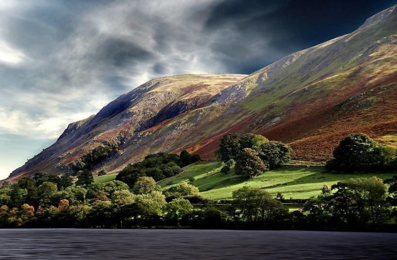 Ullswater in Lake District, Cumbria