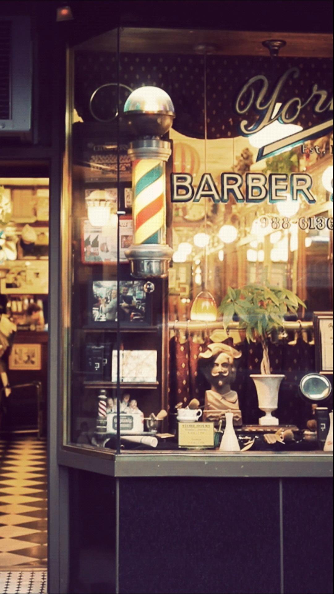 Cinemagraph Chez Le Barbier Video Barbearias Retro Ideias Para Barbearias Poste De Barbearia