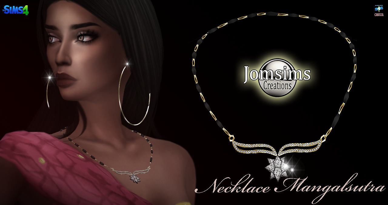 Mangalsutra Collier sims 4. pour elle. or. un bijou très fin, et très travaillé. Happy simming! zone accessoires.     http://www.jomsimscreations.fr    Mangalsutra necklace sims 4. for her. Gold A very fine jewel, and very worked. Happy simming! area accessories.    http://www.jomsimscreations.fr