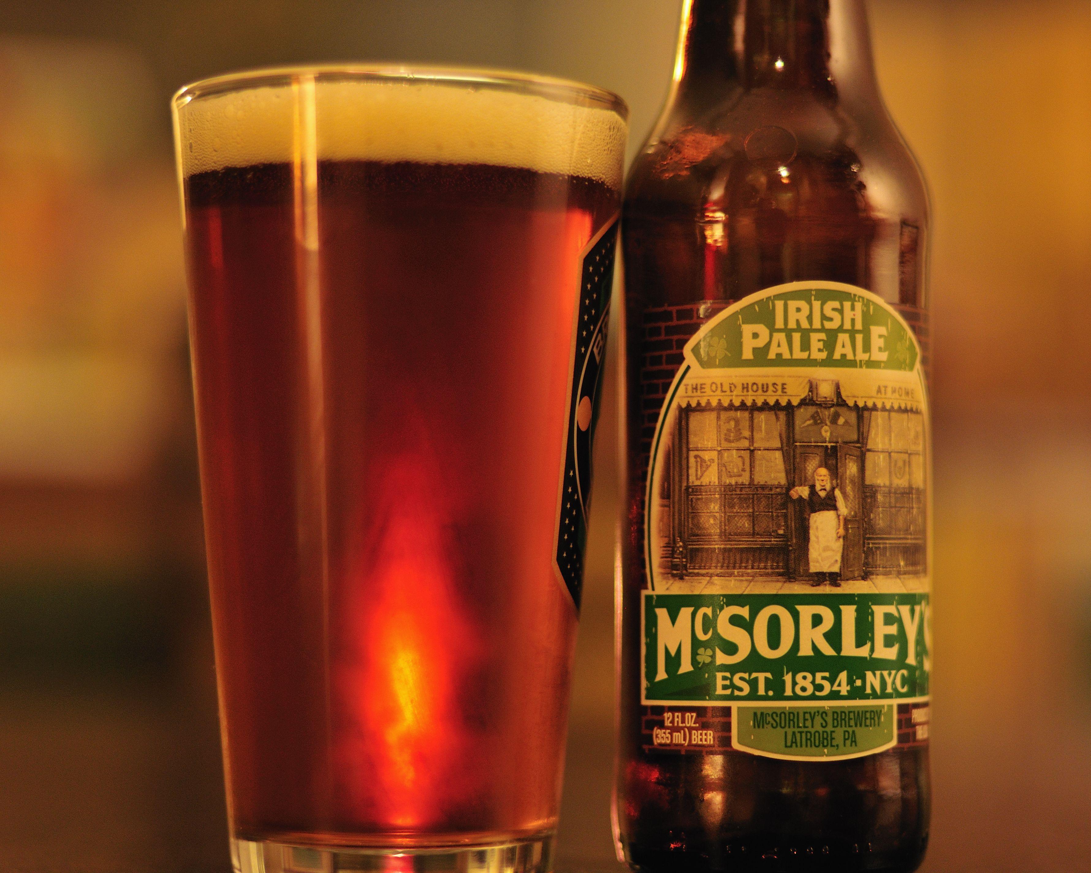 Mcsorley S Irish Pale Ale Pale Ale Beer Supplies Ale