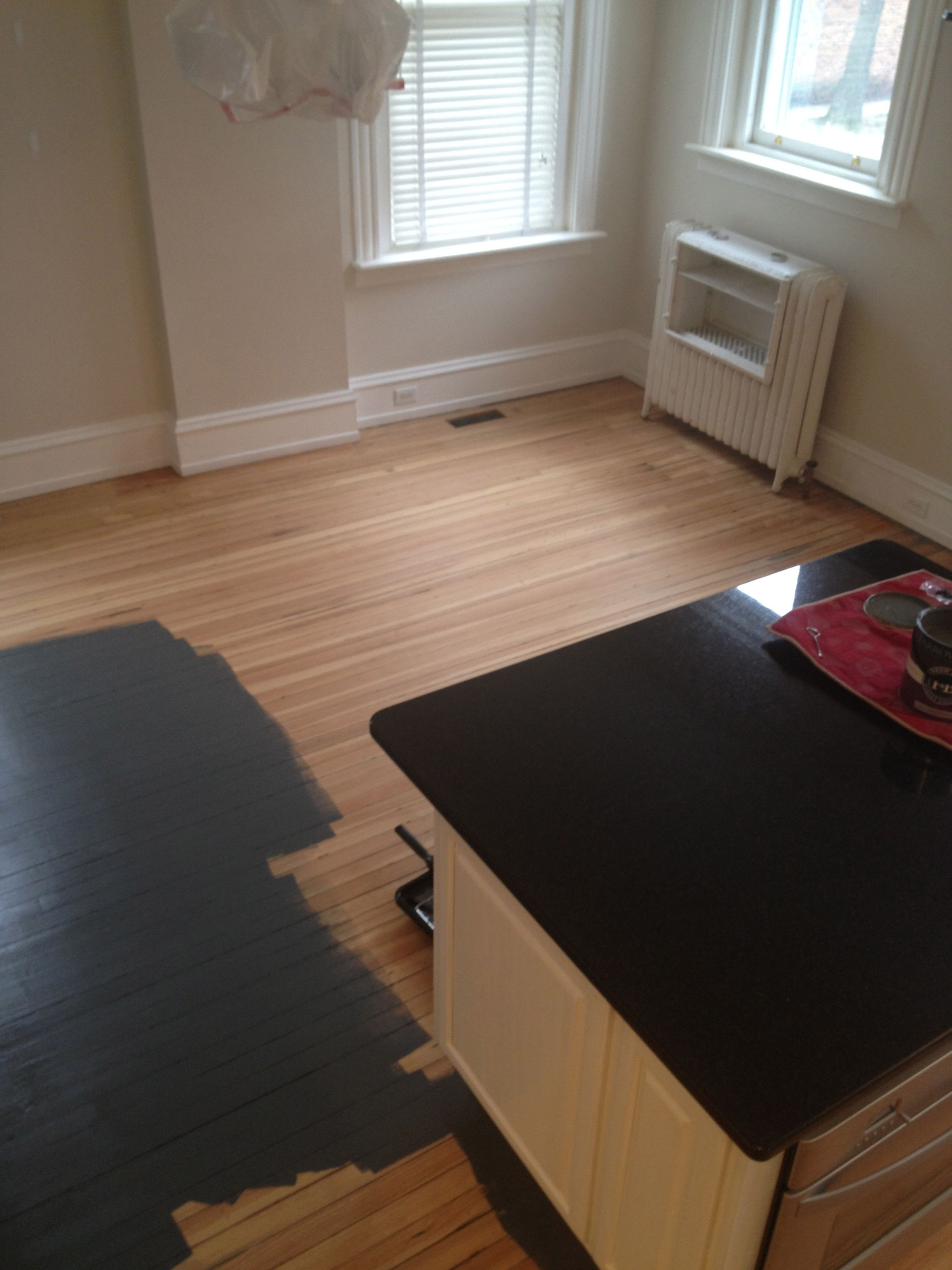 How To Painting Fake Wood Floor With DIY For Inspiring Painted Wood