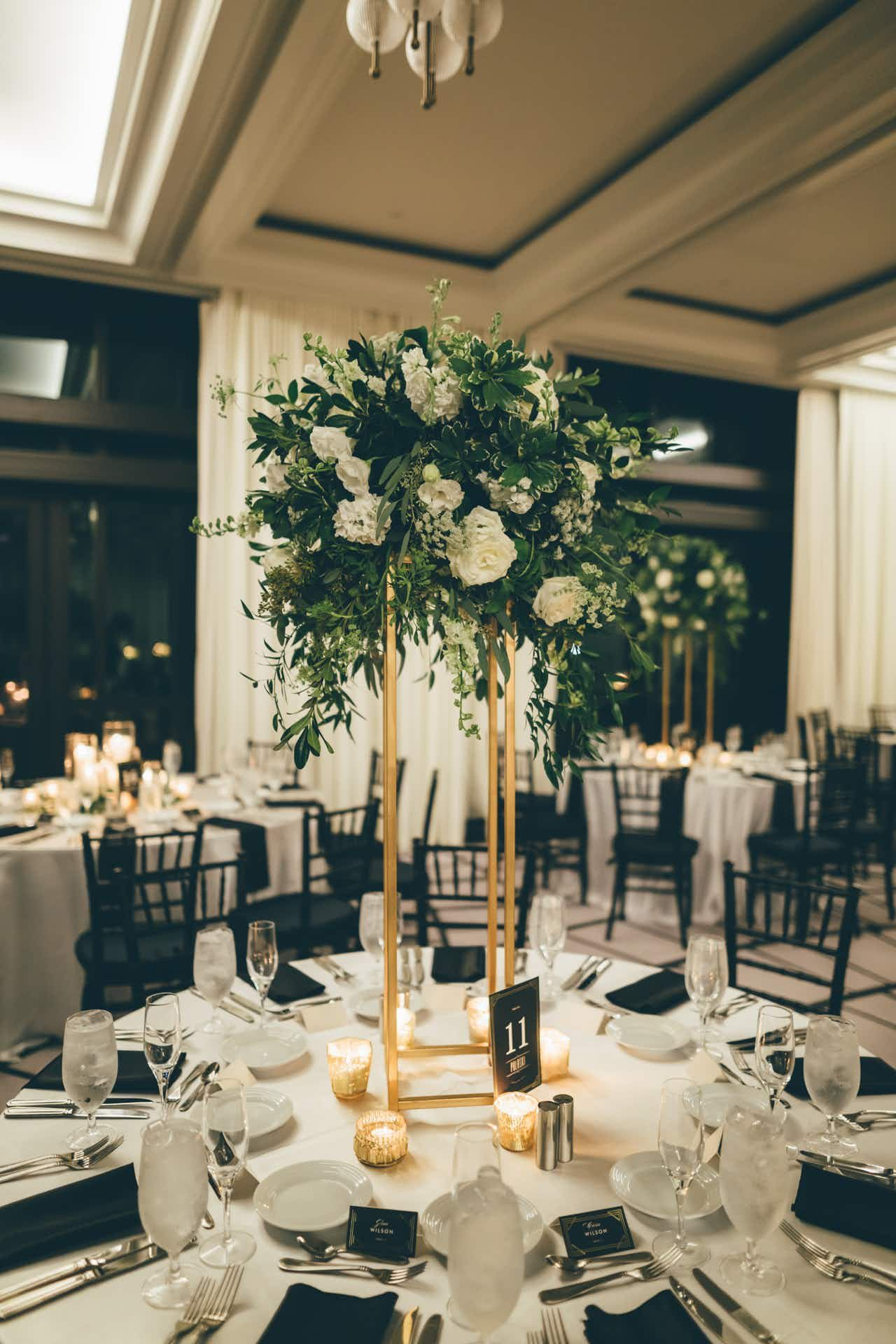 An Elegant Rooftop Wedding at Perry Lane Hotel in 2020
