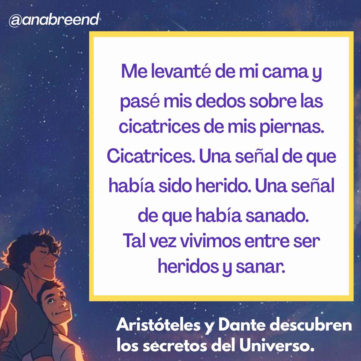 Aristóteles Y Dante Descubren Los Secretos Del Universo Aristoteles Y Dante Secretos Del Universo El Secreto