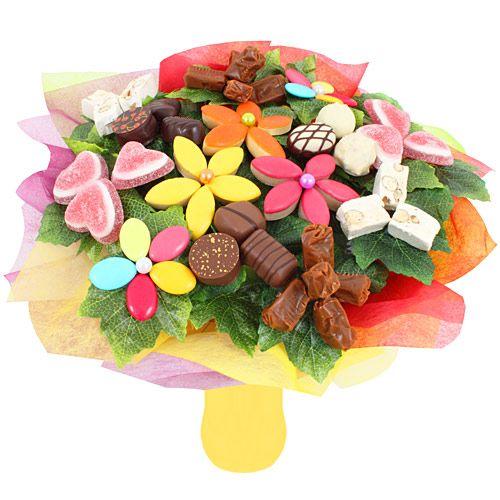 Fleuriste Gourmand Bouquet Gourmand En 2020 Fleurs De Bonbons