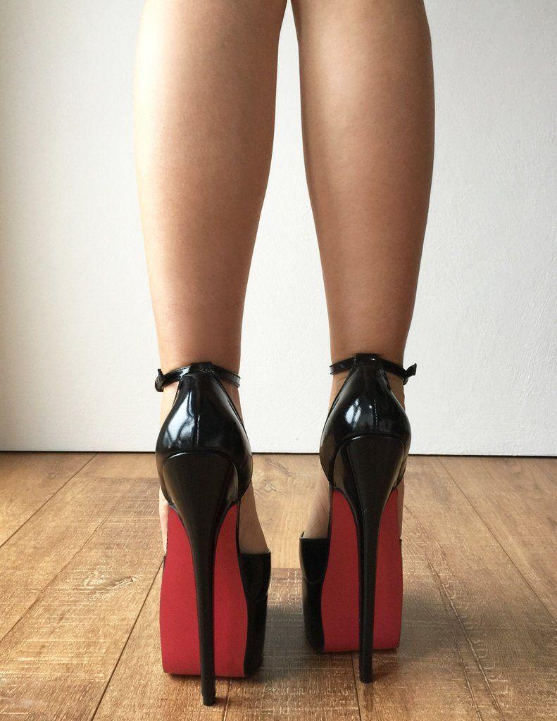 Fetish foot heel high