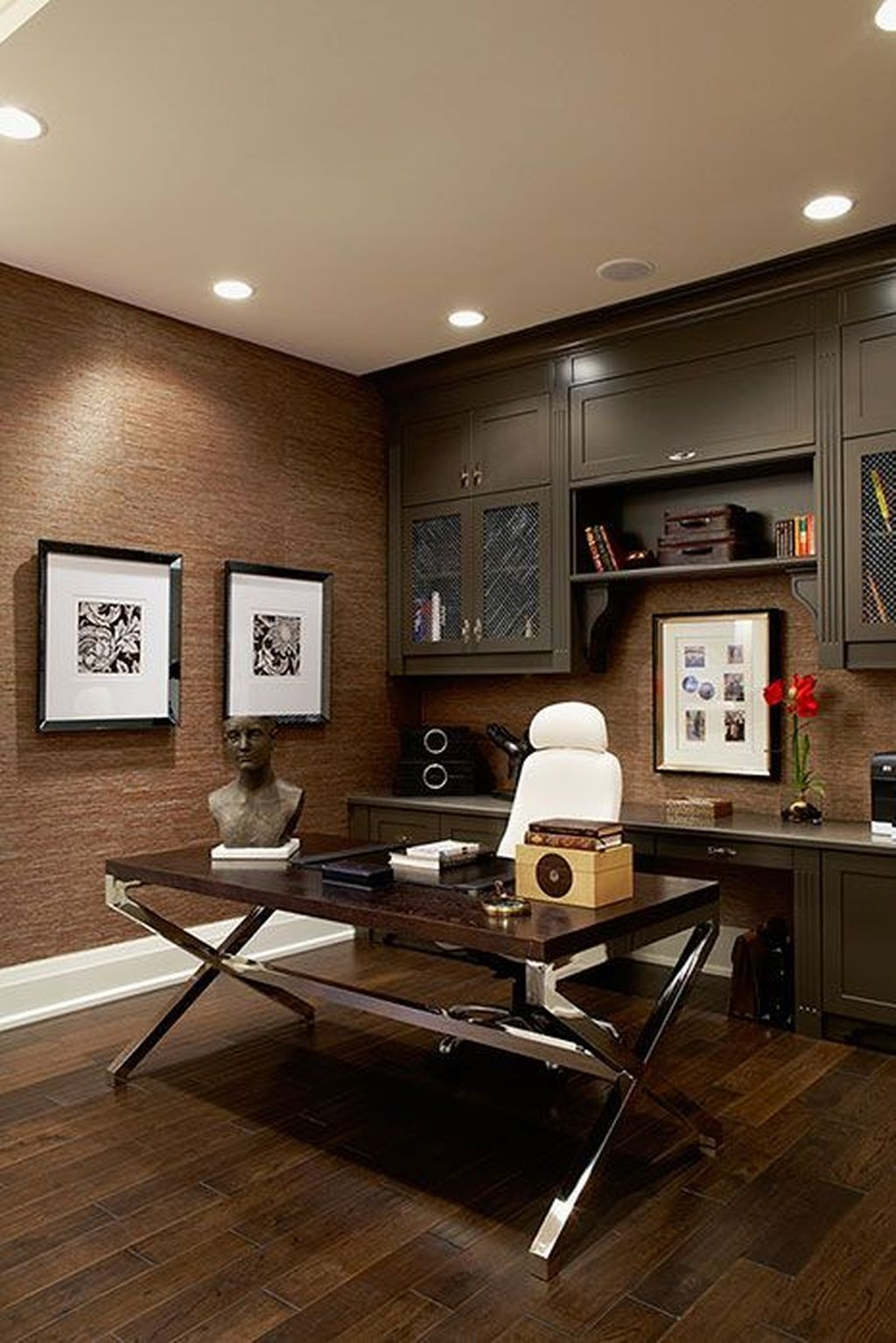 Impressive 34 Stunning Home Office Design Layout Ideas Home