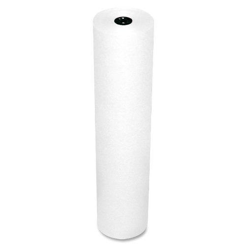 63000 White 3-Feet by 1000-Feet Pacon Rainbow Lightweight Duo-Finish Kraft Paper Roll