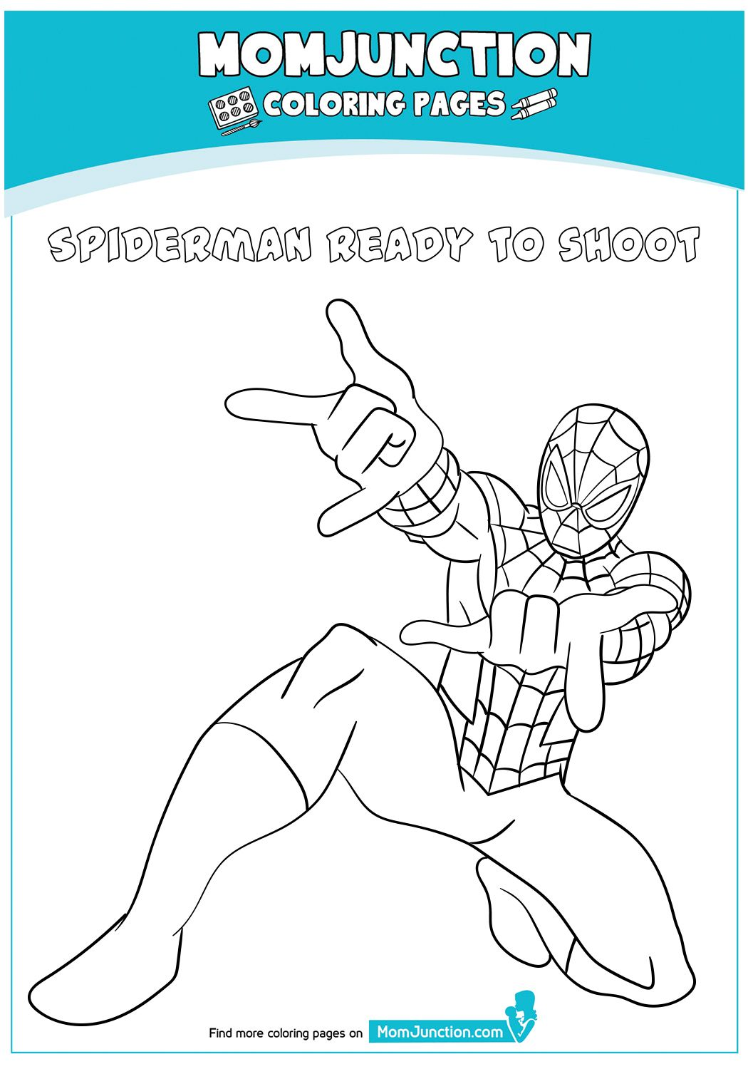 Coloring Page In 2020 Coloring Pages Spiderman Coloring