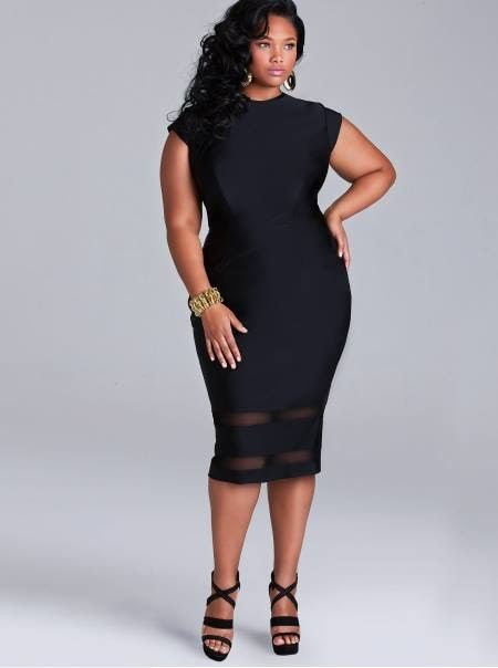 Cute Black Dress By Monif C Plus Sizeslove Her Style 3