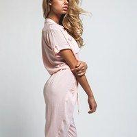H Jumpsuit Pink