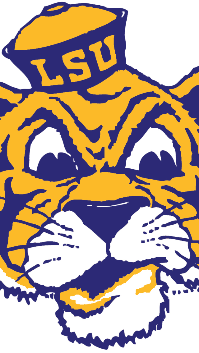 Old LSU Tiger iPhone 5 Wallpapers Lsu tigers, Lsu