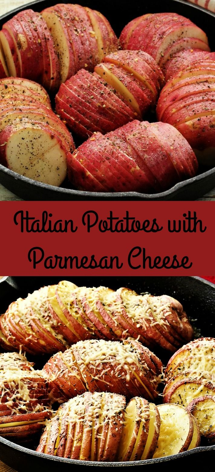 Photo of Italian Potatoes with Parmesan Cheese