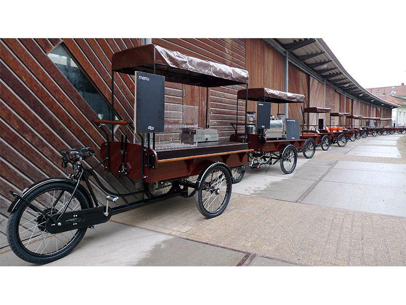 Workcycles Nijland Trike Dutch Cargo Bike Coffee bike