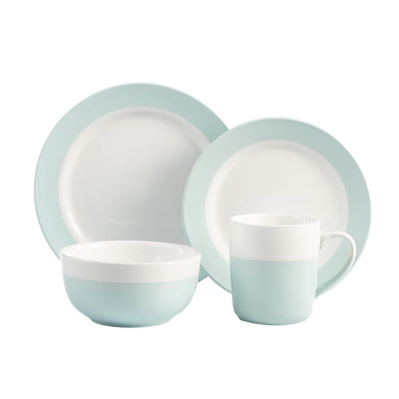 Havard 16-Piece Dinnerware Set | Flatware and Place Settings ...