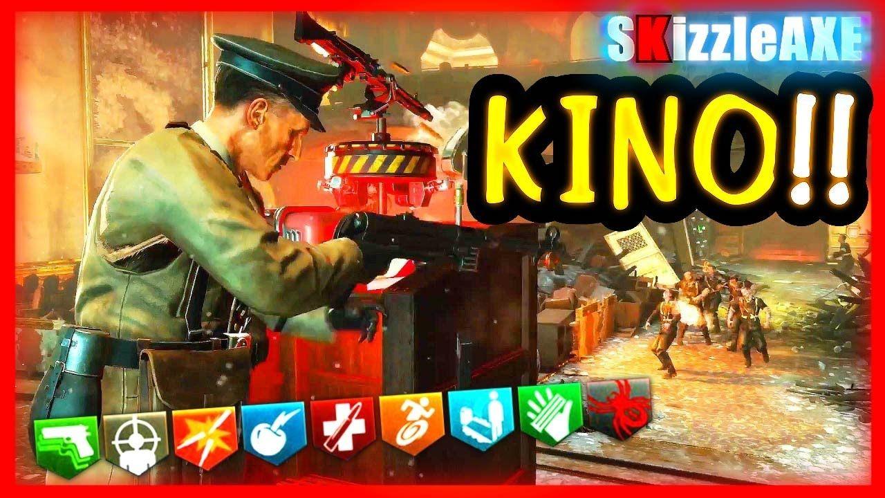 Kino Der Toten Not Round 100 Run Best Strategy Dlc 5 Gameplay Black Black Ops 3 Zombies Black Ops Black Ops 3