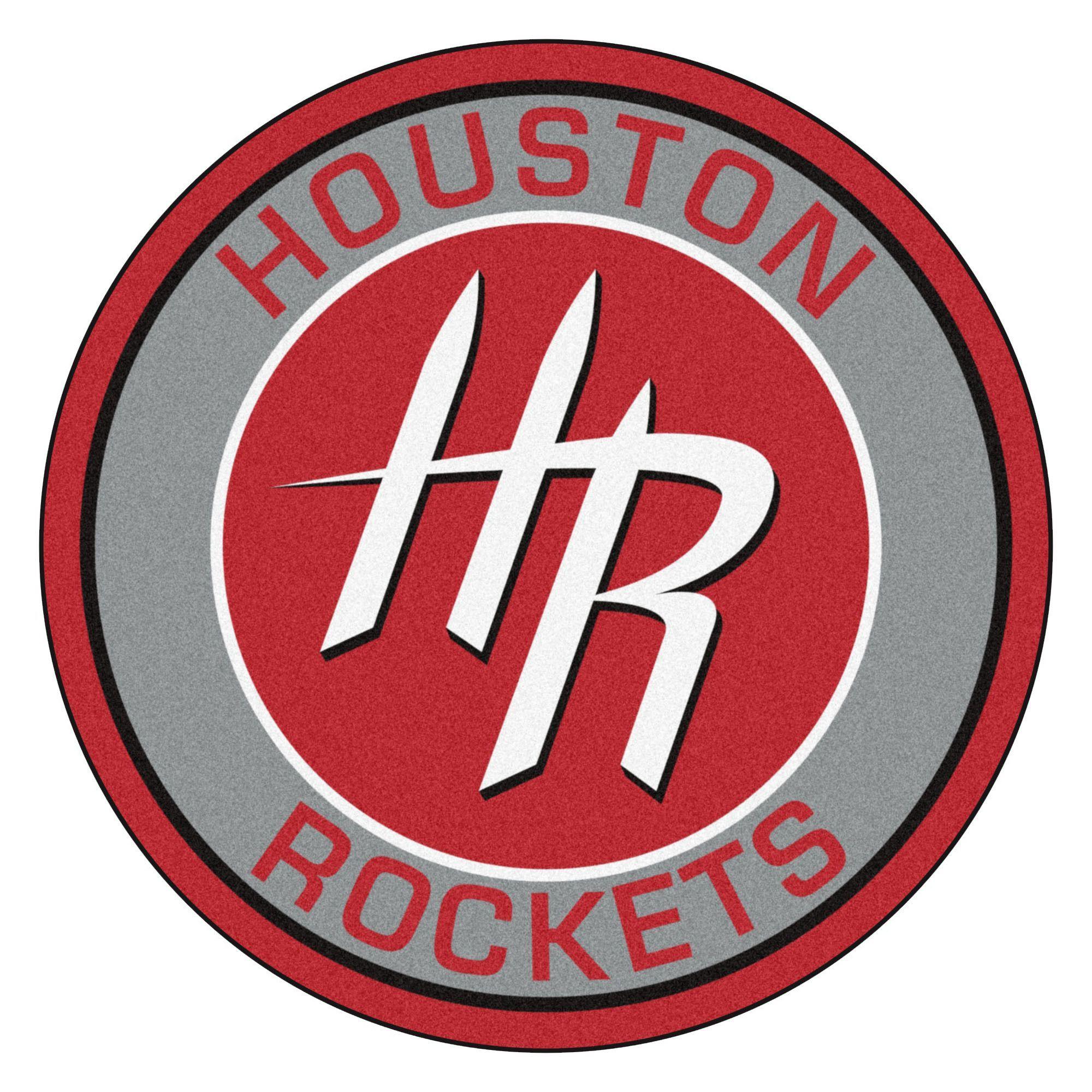 Nba Houston Rockets Roundel 27 In X 27 In Non Slip Indoor Only Mat Nba Houston Rockets Houston Rockets Houston Rockets Team