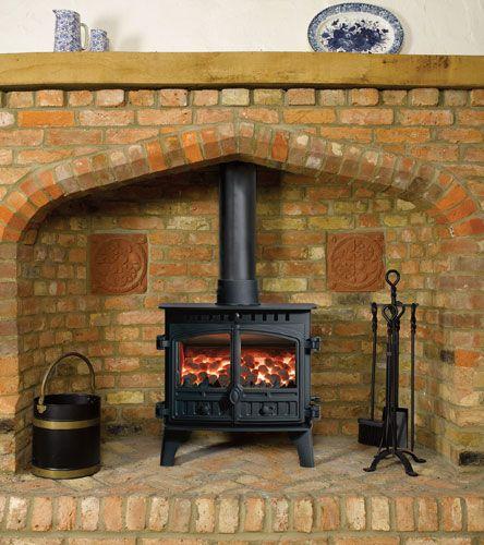 Hunter Herald 8 Multifuel Woodburning Stove 2 Door