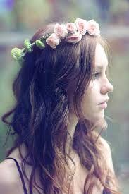 coronas de flores para la cabeza tumblr - Buscar con Google