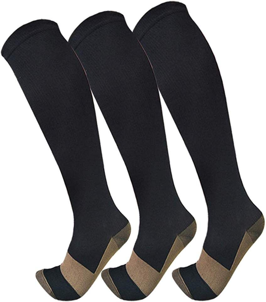 Copper compression socks for men women3 pairs15