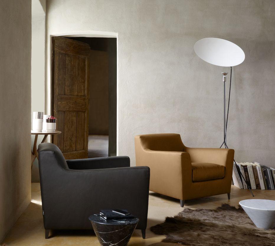 Rive Droite Sessel Designer Didier Gomez Ligne Roset Armlehnen Haus Deko Produktdesign