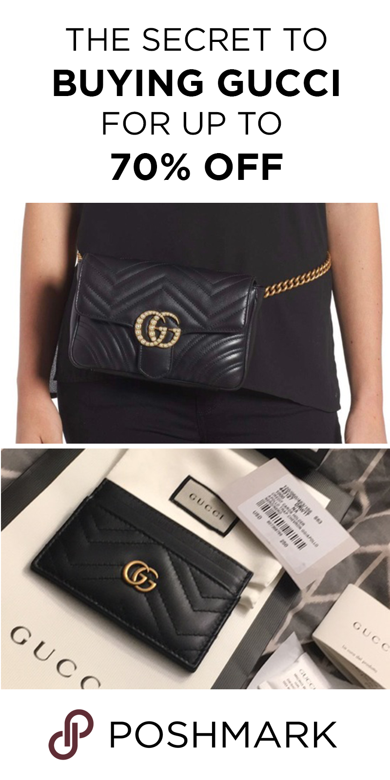 9217276bff1b Find pre-owned Gucci designer handbags   backpacks for cheap on Poshmark.  Download the app to shop and save.