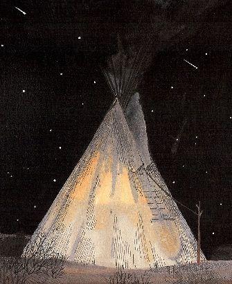 Sioux Tipi - Shelter - Historical Cultural Studies, Tiburon