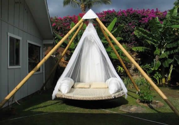 Diy Trampoline Swing Bed For Ultimate Outdoor Lounging Outdoor