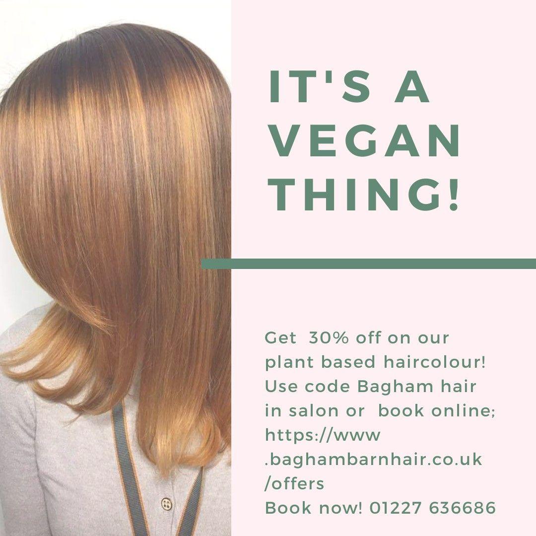 Vegan, plant based hair colour range Hair color, Small