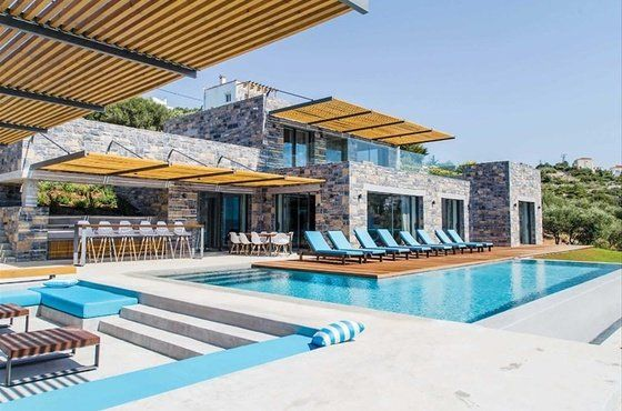 Stunning property facing the sea #forsale in #Apokoronas in #Greece #Crete ;) by A property in Greece  #luxuryproperty #propertyforsale #luxury #grèce #crète #luxe #immobilier #prestige #maisonàvendre #villavuemer #luxuryhomes #milliondollarlisting #stone #architecture #sun #pool #seaview